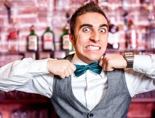 Как разозлить бармена…
