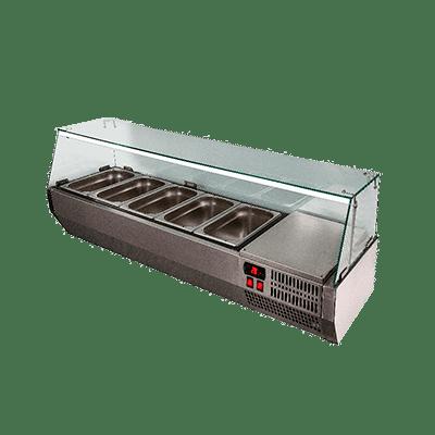 Витрина холодильная настольная VT2-G с крышкой