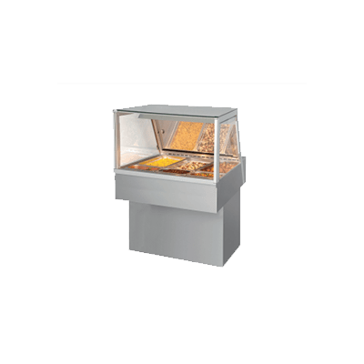 Витрина Hot Deli 3 Essential (с прямым стеклом)