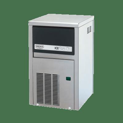 Льдогенератор кубикового льда CB 184 INOX