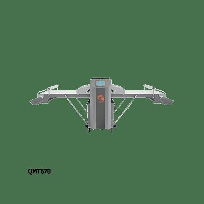 Полуавтоматическая раскаточная машина QMT670\1200
