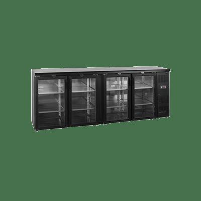 Барный холодильный шкаф CBC410G-P