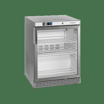 Морозильный шкаф со стеклом UF200VSG-P