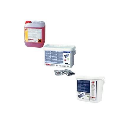 Очистители и средства ухода за аппаратами