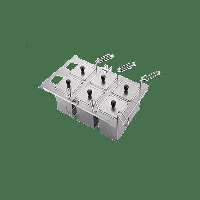 Порционные корзины с рамой 112T, 112