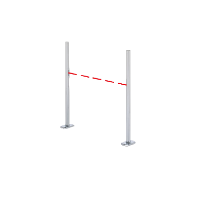 Измерение потока покупателей с помощью инфракрасного датчика