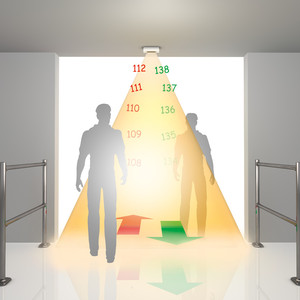 Система подсчета количества покупателей