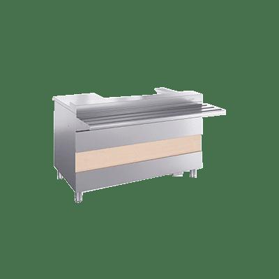 РИВЬЕРА- Кассовый стол с подлокотником  КСП-1120-02