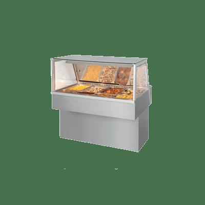 Витрина Hot Deli 4 Essential (с прямым стеклом)