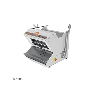 Полуавтоматическая настольная хлеборезка BS450B