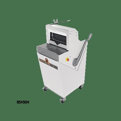 Полуавтоматическая хлеборезка BS450H с горизонтальной загрузкой