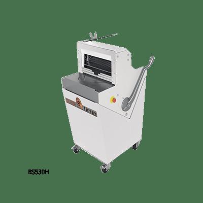 Полуавтоматическая хлеборезка BS530H с горизонтальной загрузкой