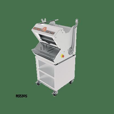 Полуавтоматическая хлеборезка BS530S на открытой подставке