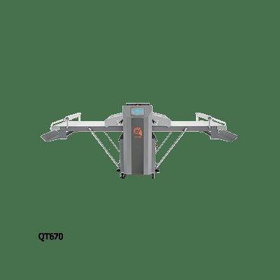 Автоматическая тестораскаточная машина QT670\1200