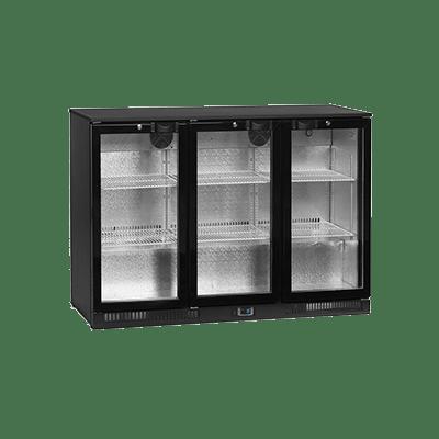 Барный холодильный шкаф DB300H-3-P