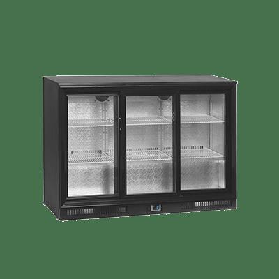 Барный холодильный шкаф DB300S-3-P