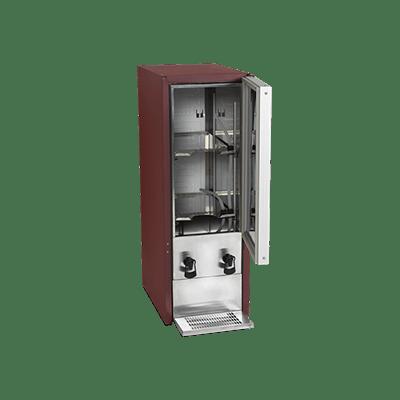 Холодильный шкаф-диспенсер для вина DKS95-2/20L
