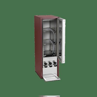Холодильный шкаф-диспенсер для вина DKS95-3/10L