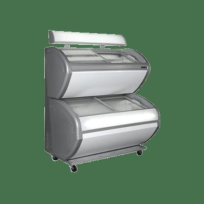 Морозильный ларь для мороженого DD240CP/4 DIVIDER/LED