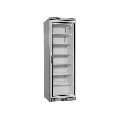 Морозильный шкаф со стеклом UF400SG-P