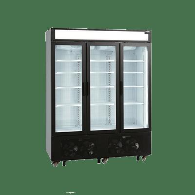 Морозильный шкаф со стеклом UFSC1600GCP-P