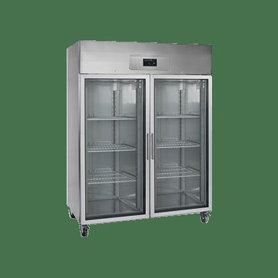 Холодильный шкаф со стеклом RK1420G-P