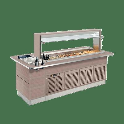 Салат-бар охлаждаемый FAST GOURMET ISOLA RF 1000