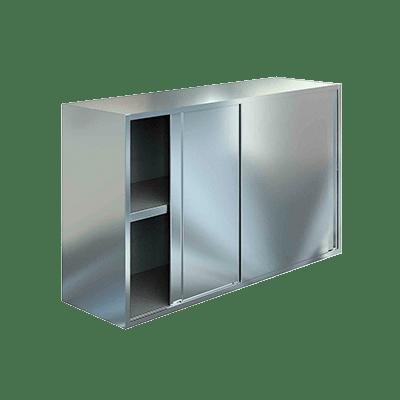 Полка настенная закрытая с дверями купе 6/4
