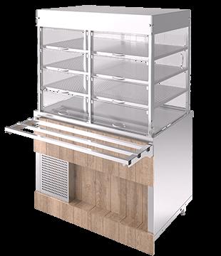 Прилавок-витрина холодильная RC21A