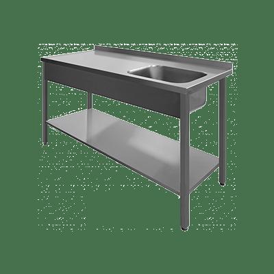 Столы производственные с мойкой_600