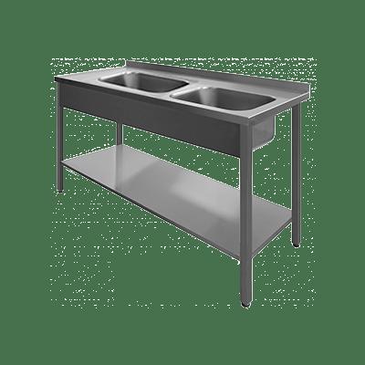 Столы производственные с двойной мойкой_600