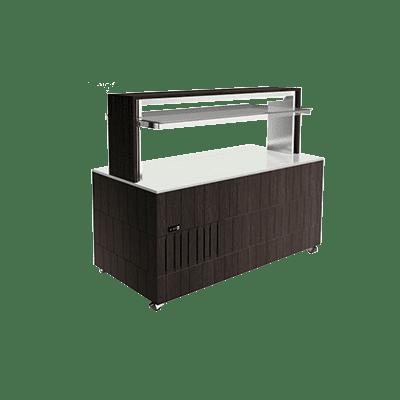 Салат-бар со сплошной охлаждаемой поверхностью DOGE ISOLA  PRF 1000