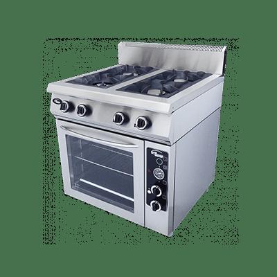 Плита газовая 4-х горелочная Ф4ПДГ/800 с газовой духовкой