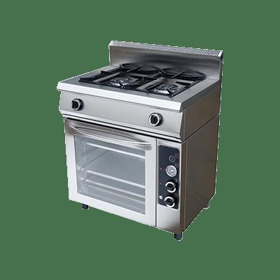 Плита газовая Ф2ПДГ/600 с комбинированной духовкой