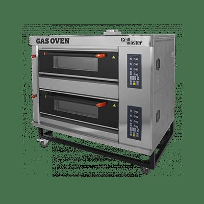 Подовый пекарский газовый шкаф с электронным управлением ШЖГ/2 (с пароувлажнением)