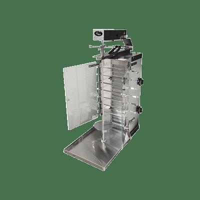 Шаверма-шашлычница газовая Ф2ШМГ (Max 50 кг)