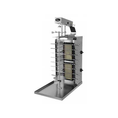 Шаверма-шашлычница газовая Ф2ШМГ с электроприводом