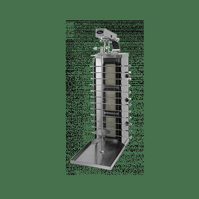 Шаверма-шашлычница газовая Ф3ШМГ с электроприводом