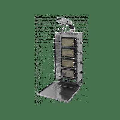 Шаверма-шашлычница газовая Ф4ШМГ с электроприводом