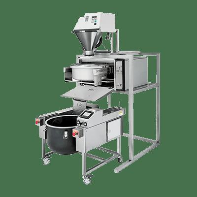 Комплект оборудования для промывания, варки и перемешивания риса Tora