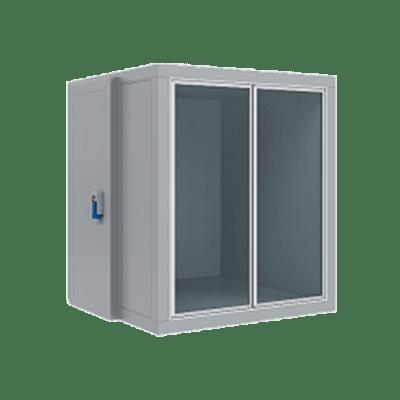 Камера холодильная КХН-3,87 СФ среднетемпературная (-2...+12 °C) со стеклянным фронтом