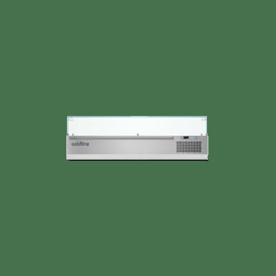 Витрина для ингредиентов VP16/7NL промышленная